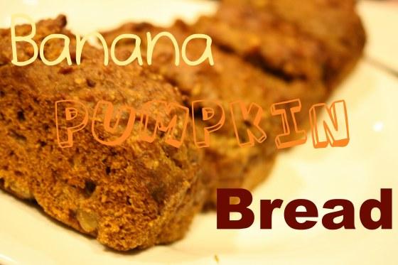 Banana Pumpkin Bread