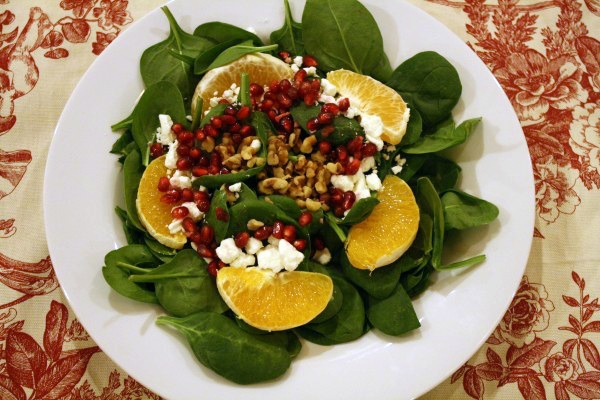 Orange Pomegranate Salad