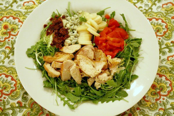 Sun-dried Tomato & Chicken Salad