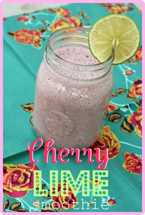 Cherry Lime Smoothie