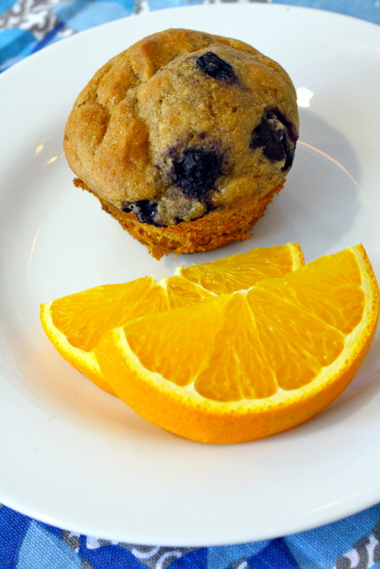 Light Blueberry Muffins