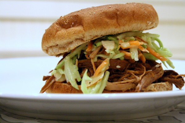 Teriyaki Pulled Pork and Creamy Slaw