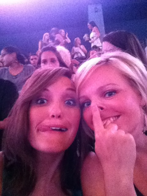 Candace and I at Britney Spears Concert