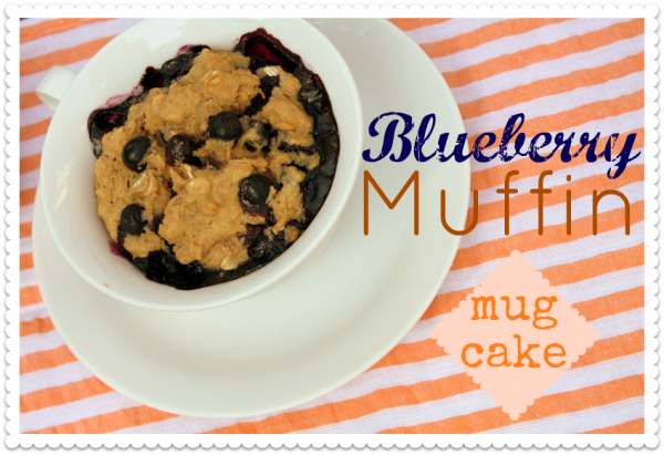 Blueberry Muffin Mug Cake