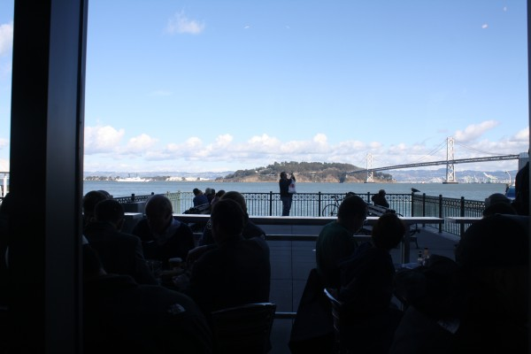 Waterfront dining, San Francisco