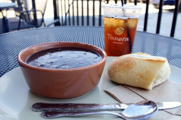 Panera's Black Bean Soup