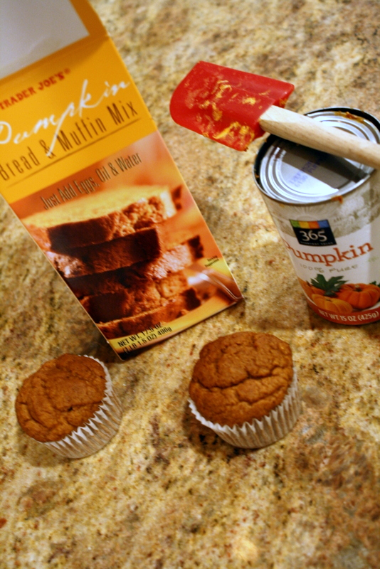 Use pumpkin to make your muffins lighter