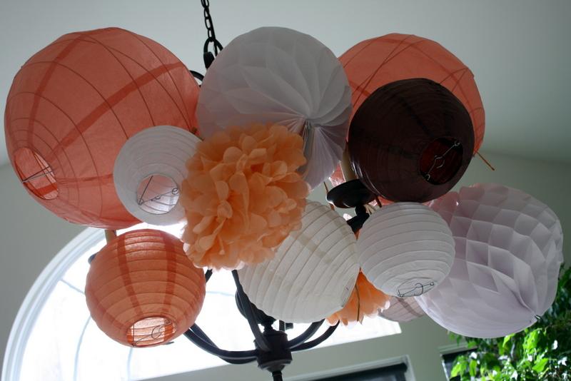 Baby Shower Paper Lanterns