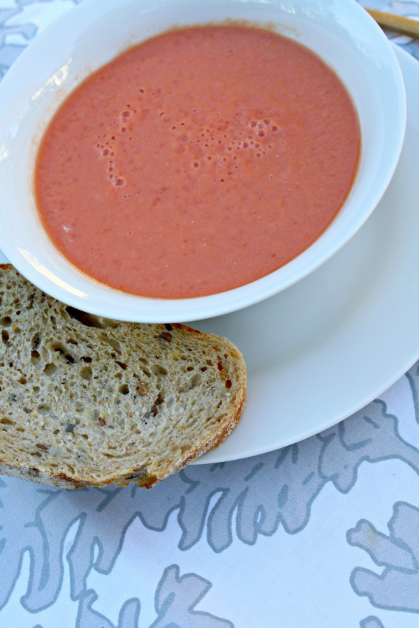 five minute tomato soup
