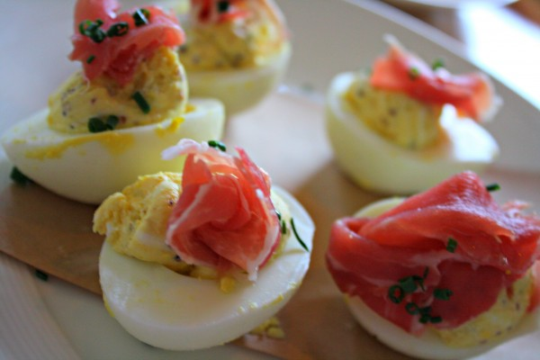 Deviled Eggs at Block and Grinder