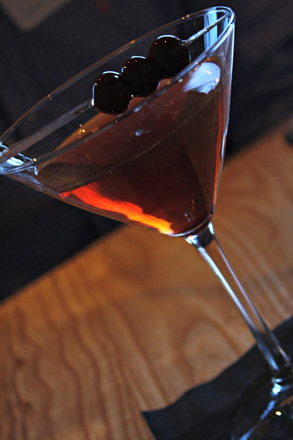 Classic Manhattan at Block and Grinder