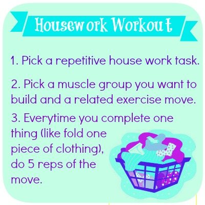 Housework Workout