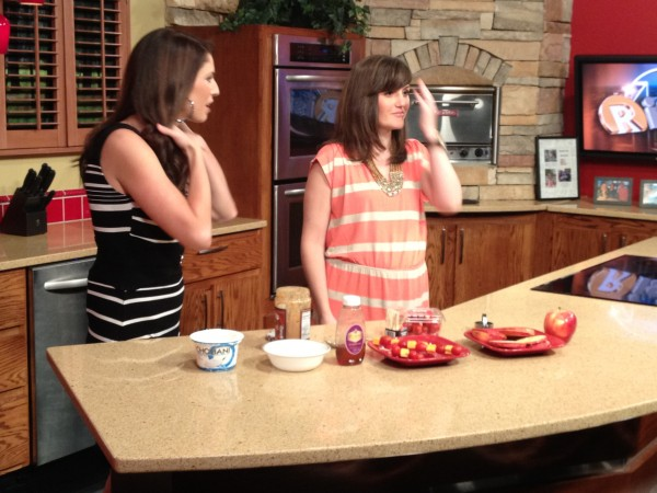 Healthy Snacks for Kids on Fox Morning Show