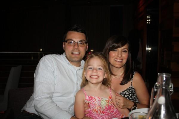 Brad, Lizzie, and I