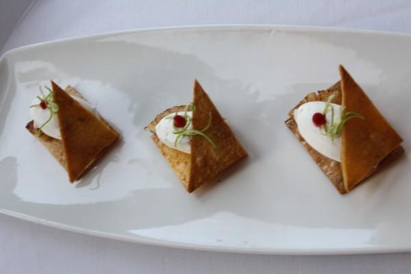 Pina Colada Napolean with Vedgee Tortilla