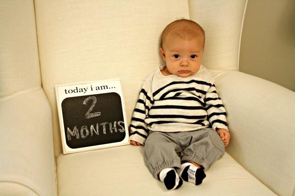 Elliott at 2 months
