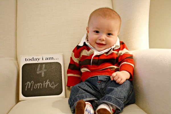 Baby at 4 months