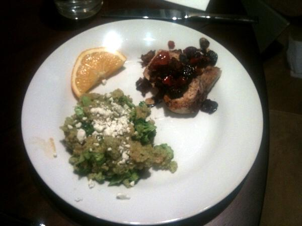 Swordfish Siciliana & Double Broccoli Quinoa