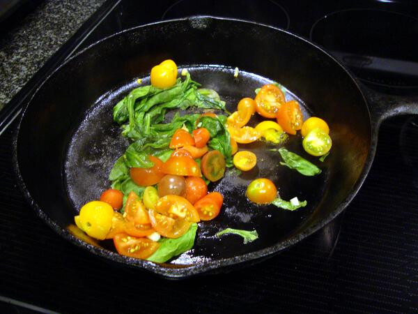Sauteed Rainbow of Veggies